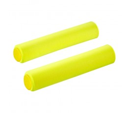 Manopole Supacaz Siliconez - Neon Yellow