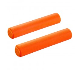 Manopole Supacaz Siliconez - Neon Orange