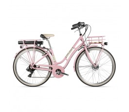 Tecnobike Belle Epoque 28 City bike ebike assistita rosa