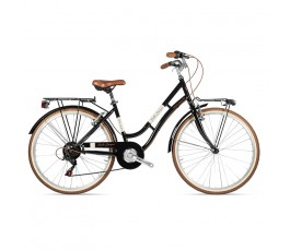Tecnobike Belle Epoque 28 City bike ebike assistita nera